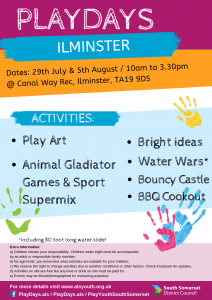 Ilminster Play days pic
