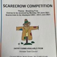 Scarecrow Competition Map Scarecrows being displayed – 20th June – 23rd June 2021